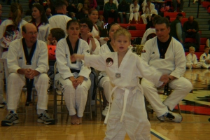 white belt for the judges