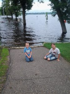 flooding Hudson
