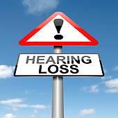 caution hearing loss