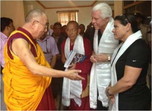 dalai_lama with Bill Austin