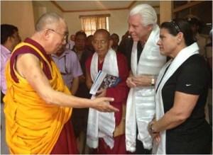 dalai_lama with Bill Austin